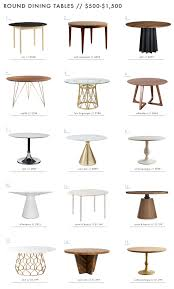 Dining Table A Roundup Of 126 Dining Tables For Every Style And Space Emily