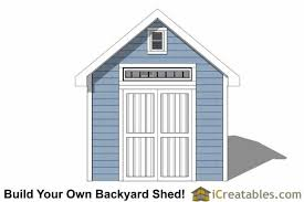 Garden Shed Plan 10x12 Traditional Victorian Garden Shed Plans Icreatables Com