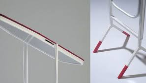 Multifunctional Design  Ironing Board  Mirror By Aïssa Logerot - Ironing table designs