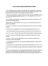 Complete Power Of Attorney Form tea partier files ethics complaint against miami state sen miguel