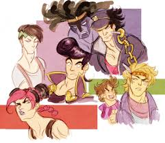 jojo s bizarre adventure fan art friday jojo u0027s bizarre adventure another castle