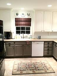 two tone kitchen cabinets images grey and white doors