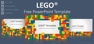 Lego Powerpoint Template Free Power Point