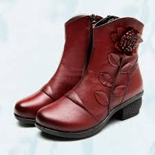 womens boots for winter 2017 3 colors genuine leather boots 2017 autumn winter