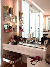 Bedroom Vanity With Storage Vanities Makeup Vanity With Storage Vanity With Side Shelves