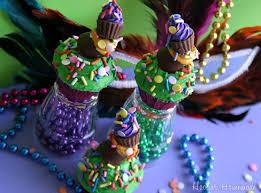 mardi gras candy topsy turvy mardi gras cupcakes hoosier