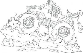 pourapp 36 monster truck color free dolphin coloring pages