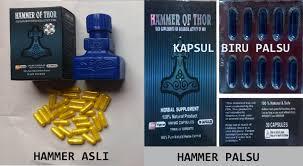 ciri ciri obat hammer of thor asli hammer of thor asli titan