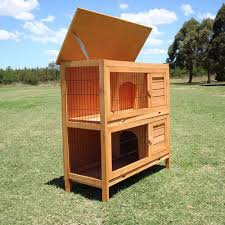 Double Decker Rabbit Hutch Double Decker Rabbit Guinea Pig Hutch Breeding Cage Run Flyline