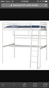 Loft Bed Gold Coast White Ikea Double Loft Bed Beds Gumtree Australia Gold Coast