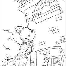 chicken little in locker coloring pages hellokids com