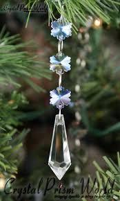 icicle snowflake suncatcher ornament prism world