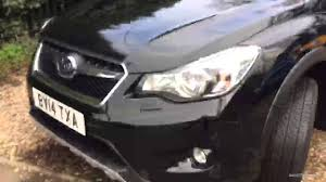 black subaru crosstrek subaru xv i black black 2014 youtube