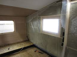 Vapor Barrier In Bathroom Insulating The Bedroom Walls U2014 Live Small Ride Free