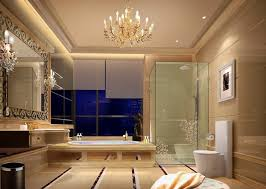 European Style Luxury Bathrooms Upscale Hotel Bathroom Design D - Bathroom design 3d