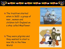 History Of Thanksgiving For Thanksgiving Powerpoint