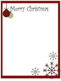 christmas letter heads sample letter template