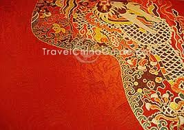 chinese design auspicious design on chinese silk