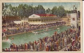 Alameda Christmas Tree Lane 2015 by California Alameda Neptune Beach Historic Swimming Pools