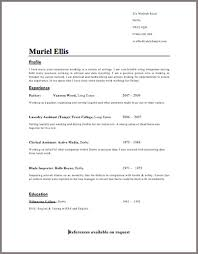 Resume Template Nz 2017 Recommendation Letter Template