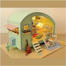cuteroom a 016 time travel diy wooden dollhouse miniature kit doll
