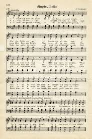 old design shop free digital image vintage sheet music jingle