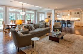 open kitchen to dining room living room open kitchen dining room designs with fireplace not