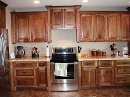 Knotty Kitchen Cabinets Kitchen Knotty Hickory Kitchen Cabinets With The Natural Texture