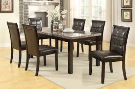 marble dining room set coronado brown marble dining table set