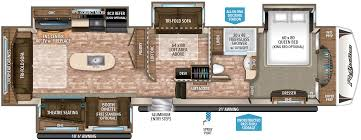 5th Wheel Camper Floor Plans by 2017 Grand Design Reflection 367bhs Good Life Rv