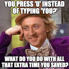 Typing Meme - refilled too early yeah defiantly too early