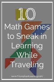 Traveling Games images 100 ways to keep learning while traveling triumphant learning jpg