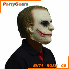 Joker Halloween Mask Deluxe Joker Latex Clown Mask By Blood Line Designs Mad About