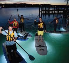 kayak lights for night paddling night paddle boarding at island spirit kayak