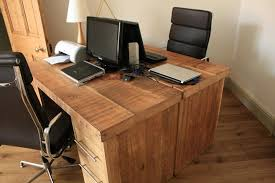 Home Office Wood Desk Reclaimed Wood Desks With Hutches Designs Ideas And Decors