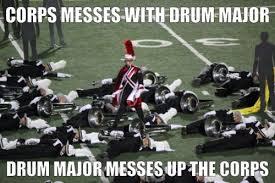 Drum Major Meme - drum corps meme tumblr