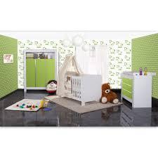 babyzimmer grün babyzimmer felix in weis grün 21 tlg mit 3 türigem kl prestij