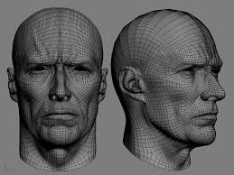Female Body Reference For 3d Modelling Gunnery Sergeant Thomas Highway 3d Wireframe Characters