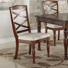 Plush Dining Room Chairs Esofastore Casual Modern Cherry 5pcs Dining Set Dining Table