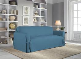 Serta Cotton Duck Box Cushion Sofa Slipcover U0026 Reviews Wayfair