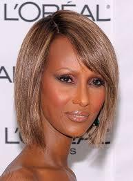 iman hairstyle short bob 100 human hair mixed color lace front