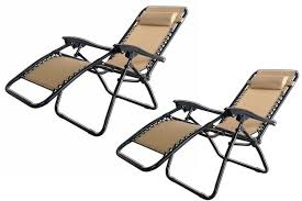 Replacement Parts For Zero Gravity Chairs 2x Palm Springs Zero Gravity Chairs Lounge Outdoor Yard Patio