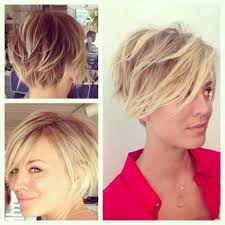 short hairstyles for women showing front and back views kaley cuoco short hair collections hair pinterest