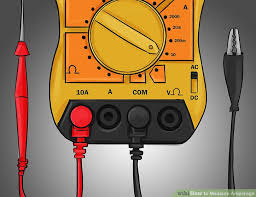how to measure amperage 7 steps with pictures wikihow