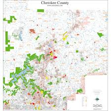 County Map Ga Atlanta Georgia Wall Map Samples Aero Surveys Of Georgia