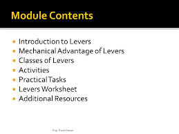 levers worksheet the best and most comprehensive worksheets