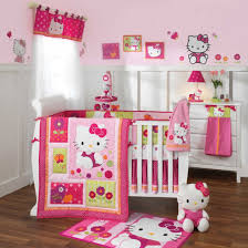 apartment style cute pink and white wall color combined with