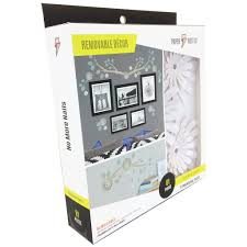wall stickers paper riot co medium removable decor kit watercolor flowers front