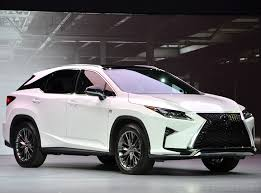 recall lexus rx 350 lexus recalls 2016 rx 350 and 450h for airbag issue carnewscafe com