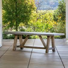 concrete top outdoor table light concrete patio furniture outdoor tables benches more